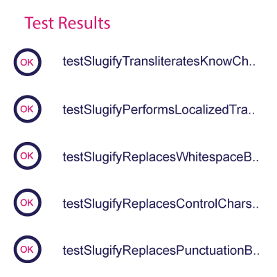 kwaliteit - test results
